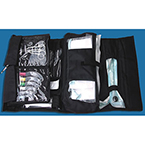 Airway Management Intubation Kit, GreenLine/D, Fiber Optic, with Disposable Blades, Includes Case