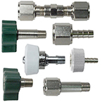 Adapter, Oxygen, O2, DISS Male x 1/8 NPT Male