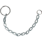 Chain Ring Assembly, 6-in Chain with Closed Ring