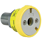 Quick Connect Coupler, Air, Compact, Ohmeda Female x 1/8 NPT Male