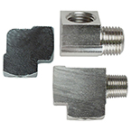 Street Tee, Pipe Fitting, 1/8 NPT Male x 1/8 NPT Female x 1/8 NPT Female