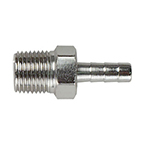 Connector, 1/8 NPT Male x 3/16-in Hose Barb