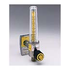 Flowmeter, Soft-Touch Timeter, Air, 15LPM, Ohmeda Male, Aluminum