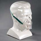 Aerosol Mask, Adult, Elongated, Over the Ear, without Tubing, Elastic Headstrap
