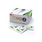 Pads, Alcohol Prep, Dynarex, Sterile, 2.36 in. (unfolded) x 1.1 in., 100/BX 20BX/CS