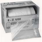 Equipment Storage Bag, Clear, Roll, 20 x 24 inch