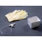 Suction Catheter Kit, AMSure, w/14 Fr Catheter, Sterile, Pop-up Solution Cup, Vinyl Gloves