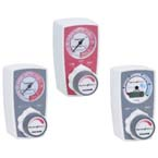 Suction Regulator, Continuous, 2 Mode, 0-300mmHg, Bottom Tubing Nipple, Back Schrader