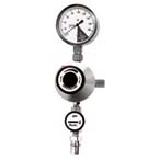 Suction Regulator, Timeter VR1000, Continuous, Chemetron Quick Connect Rectangle Inlet, DISS Male Outlet