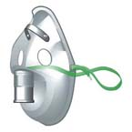 Aerosol Mask, Standard, Under the Lip, No Tubing, Adult