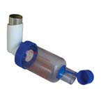 Holding Chamber, Pocket Chamber, Aerosol, Anti-Static, Valved, Flexible End-Piece, 10 per Case