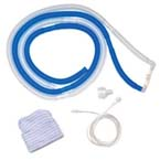 CPAP Kit / System, Infant, Size 2 Cannula, Elbows, Tubing, Monitoring Line, Adaptor, Cap, and Tape