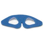 Patient Eye Protector, Non-Sterile, Small, Pediatric, Self Adhering, Double Foam