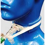 Tracheostomy Tube Holder, Vent-Tie II (Two Piece), Anti-Disconnect Strap, Extra Soft Ventilator, Adult