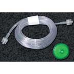 Gas Sampling Line, 10ft, 0.050in ID, PVC, Male x Male Connector, Non-Sterile, Single Patient Use