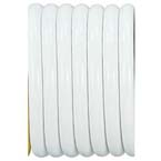 Vacuum Hose, White, Conductive, Kink Resistant, Medical Grade, 5/16-in ID, 1-ft