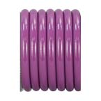 Evacuation Hose (WAGD), Purple, Conductive, Kink Resistant, Medical Grade, 5/16-in ID, 1-ft