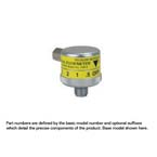 Air Flowmeter, Dial, 0-15 LPM, DISS Female Hand Tight Connector