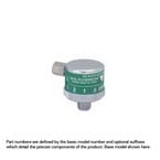 Oxygen Flowmeter, Dial, 0-15 LPM, 1/8 NPT Female, No Adapter, Top Inlet