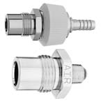Demand Valve Body Adapter, Oxygen, DISS 1240, 9/16in 18 Thread, 1/8in NPT Male