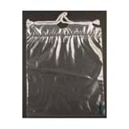 Drawstring Bag, Mini, Clear, 8in x 10in