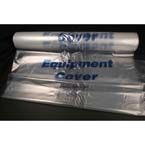 Equipment Cover, Wheelchair, Standard Size, Clear Plastic