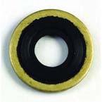 Washer, Yoke Seal, Brass/Viton