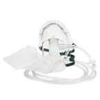 Oxygen Mask, 7ft Tubing, Universal Connector, Adult