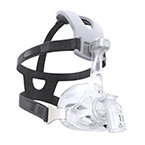 Face Mask, AF541, EE Leak 1 Elbow, CapStrap Headgear, Under the Nose, XS