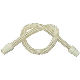 Breathing Tube, 48in, Reusable, Semi Clear, Non Conductive, Flexible, Smooth 3/4in ID