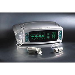 Capnograph, Capnocheck Plus, 4 Channel Analog Output, SP02 and FiO2 Technology Options