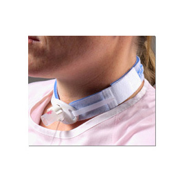 Tracheostomy Tube Holder, Blue, One Size fits Most