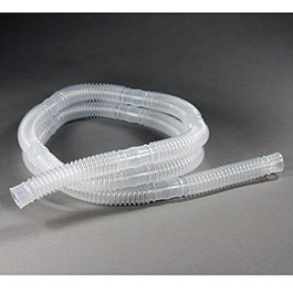 Corrugated Tubing, Curaplex, 100ft Roll, 22mm ID, Segmented Every 6inches