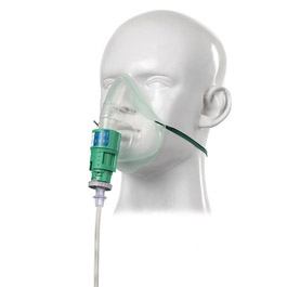"EcoLite Venturi Mask Kit with Tube, Silente, Adjustable, Adult, 1.8m<span style=""color:#FF0000;font-weight:bold;padding-left:5px;"">*Non-Returnable*</span>"