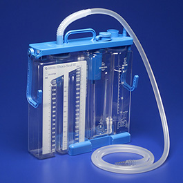 Unit, Chest Drainage, Thora-Seal, Collection, Underwater Seal, Suction Control Chambers