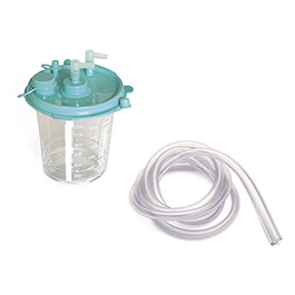 Collection Canister, LCSU, Disposable, Filter, Suction Tubing