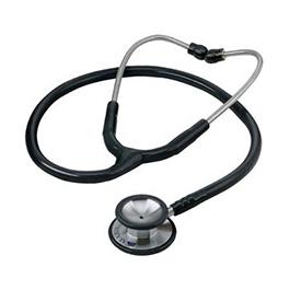 Stainless Steel Stethoscope, Signature, Adult, Black
