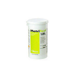 Test Strip, MetriTest, Monitoring System, Tests to Minimum Level of 1.5% Glutaraldehyde