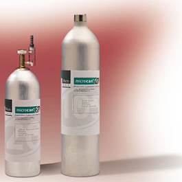 Calibration Gas, Carbon Monoxide, for Micro CO Monitor, 17 Liter, 20 ppm