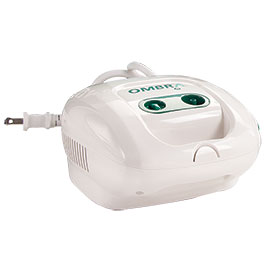 Ombra™ Table Top Compressor, AeroEclipse® II Breath Actuated Nebulizer (BAN)