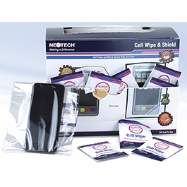 Cell Wipe™ & Cell Shield™ Combo Pack