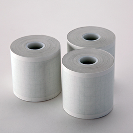 ECG Printer Paper, for Life Pak Defibrillator/Monitor Series, 50 mm x 30 m, Roll