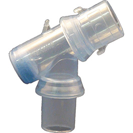 Airway Connector, Bodai PEEP-SAFE, Double Swivel, for High PEEP Patients