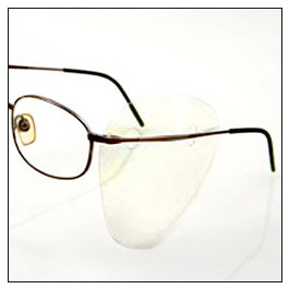 Side Shield, SideShield, Clear, Disposable, for Use with Prescription Glasses