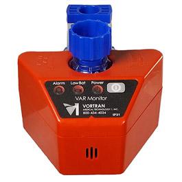 VAR Monitor, Non-Cycling Alarm, 9V DC Battery