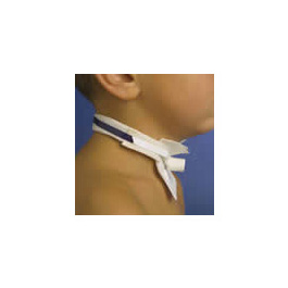 Tracheostomy Tube Holder, Pedi-Tie II, Pediatric, Adjustable, Hypoallergenic Cotton-Pile, 2-Piece