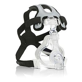 AF531 Face Masks, EE Nebulizer Elbow, 4-Point Headgear
