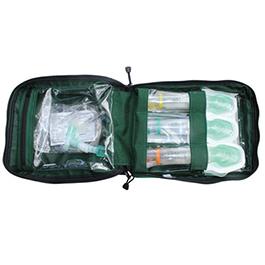I Gel O2 Resus Ems Bag Green Bound Tree Medical