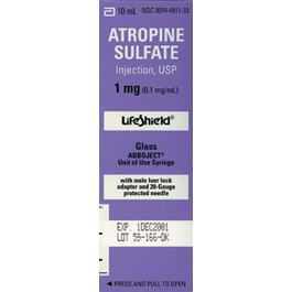 atropine collyre en sublingual
