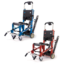 Ferno Ez Glide Evacuation Stair Chair W Tracks Red
